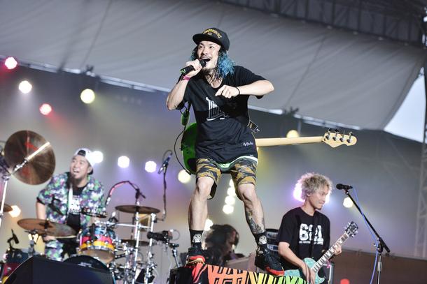 7月30日WANIMA/photo by 橋本塁(SOUND SHOOTER)