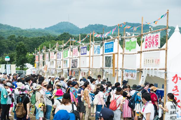 フードエリア&ワークショップ/photo by 鈴木省一