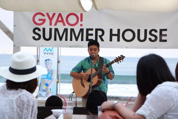 8月3日@GYAO! SUMMER HOUSE