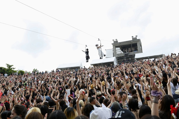 8月5日、6日@沖縄県・ぎのわん海浜公園屋外劇場