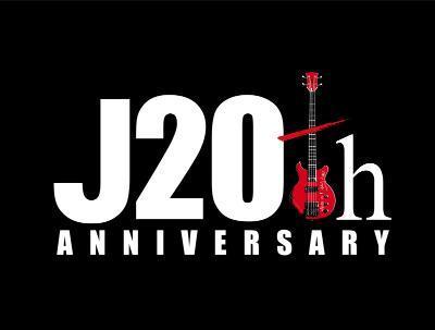 J、ソロデビュー20周年ロゴ