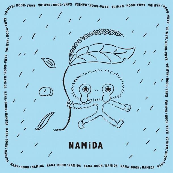 「ナミダマの特製ハンカチーフ」(シルク製・50cm×50cmバンダナ・サイズ)