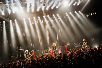 8月11日@赤坂BLITZ Photo by 旭里奈