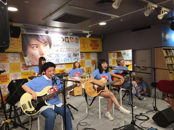 インストアライブ@タワーレコード渋谷