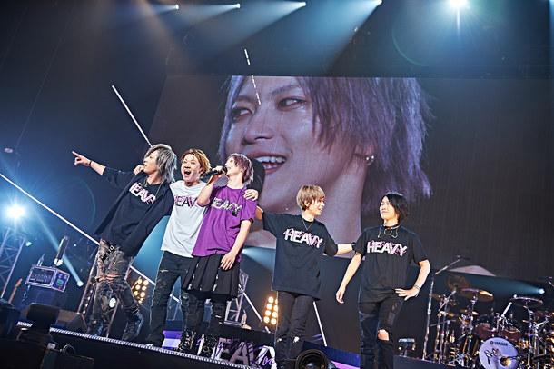 【D】 『D TOUR 2017「Dark fairy tale」』 2017年8月29日 at 赤坂BLITZ