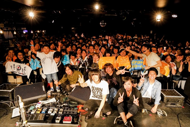 9月8日@LIVEHOUSE FEVER