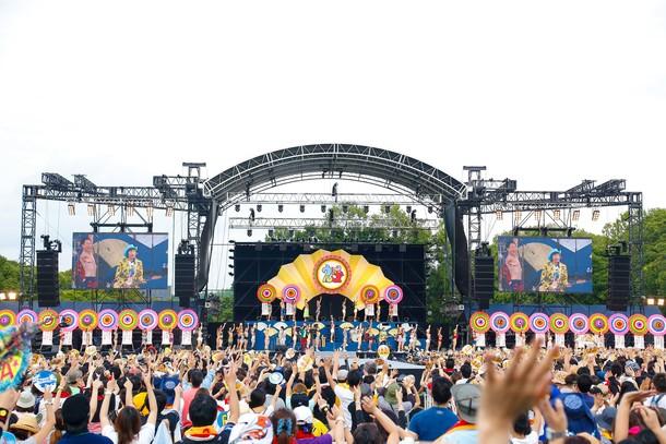 9月23日(土・祝) @大阪・万博記念公園もみじ川芝生広場