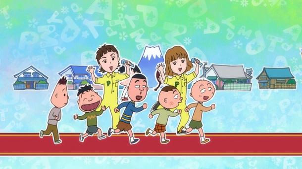 エンディング主題歌アニメーション画像1(C)さくらプロダクション/日本アニメーション