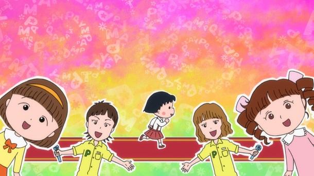 エンディング主題歌アニメーション画像2(C)さくらプロダクション/日本アニメーション