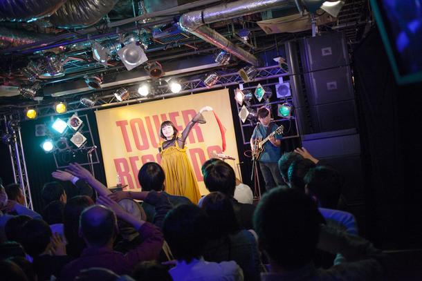 10月5日@タワーレコード渋谷店B1F