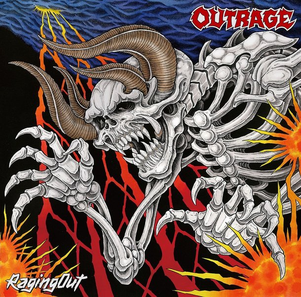 「Hammer Down and Go」収録アルバム『Raging Out』/OUTRAGE
