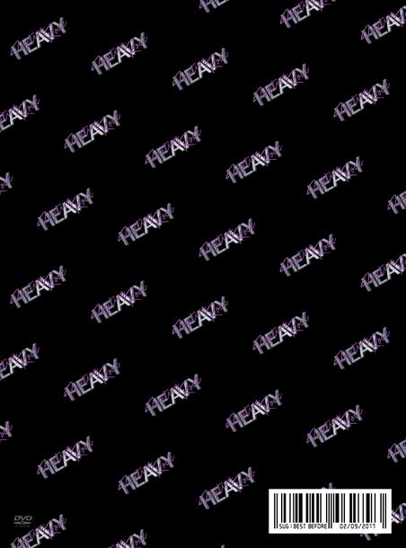 ライブ映像『HEAVY POSITIVE ROCK FINAL LIVE AT NIPPON BUDOKAN』【初回限定盤】(2DVD)