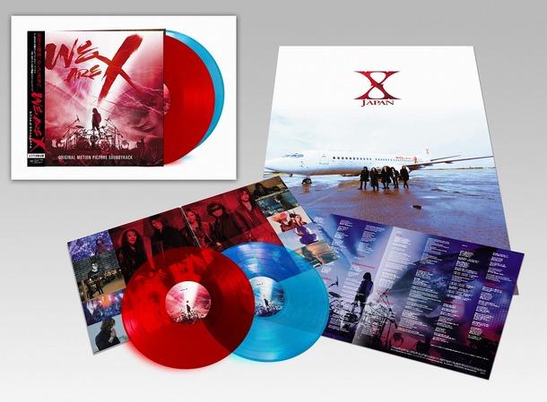 アナログ盤『WE ARE X』【日本盤】展開写真