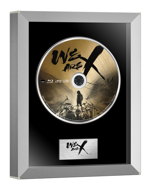 Blu-ray&DVD『WE ARE X』Blu-rayコレクターズ・エディション(1枚組)