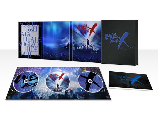 Blu-ray&DVD『WE ARE X』スペシャル・エディション(3枚組)