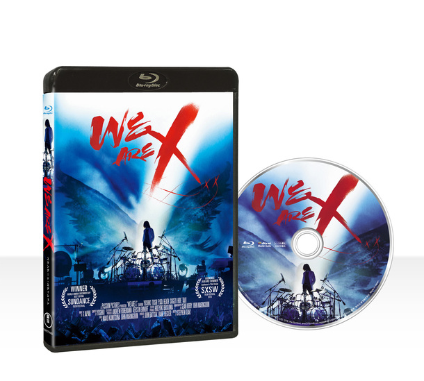 Blu-ray&DVD『WE ARE X』Blu-rayスタンダード・エディション