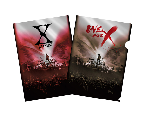 Blu-ray&DVD『WE ARE X』購入者特典メタリックアファイル (楽天ブックス)