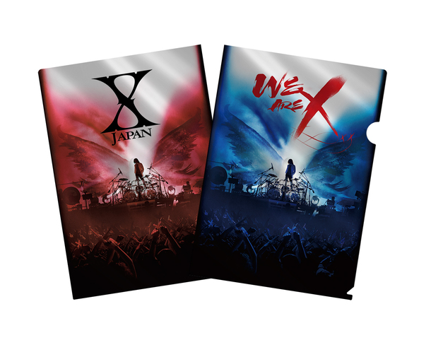Blu-ray&DVD『WE ARE X』購入者特典メタリックアファイル(そのほかの法人)