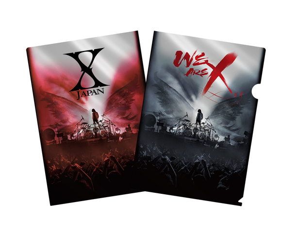 Blu-ray&DVD『WE ARE X』購入者特典メタリックアファイル (Amazon)