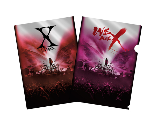 Blu-ray&DVD『WE ARE X』購入者特典メタリックアファイル(HMV)