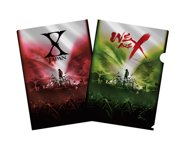 Blu-ray&DVD『WE ARE X』購入者特典メタリックアファイル(TOWER RECORDS)