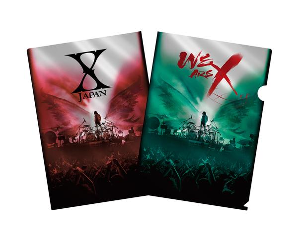 Blu-ray&DVD『WE ARE X』購入者特典メタリックアファイル(TSUTAYA)