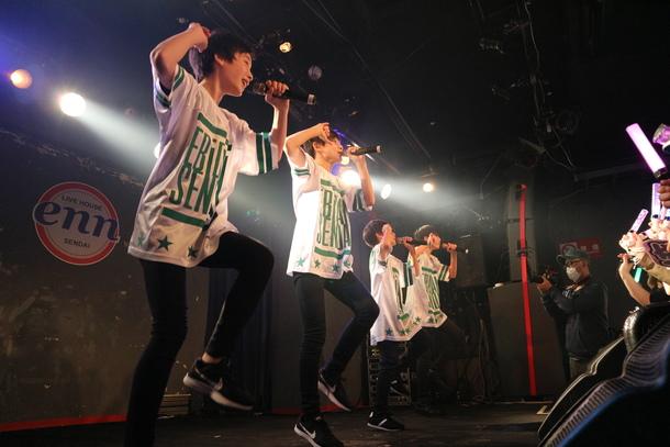 11月5日@宮城・仙台LIVE HOUSE enn 2nd(EBiDAN SENDAI)
