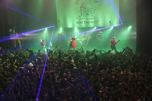 【SHAKALABBITS ライヴレポート】 『What Time Is It !?』 2017年11月4日 at  新木場STUDIO COAST