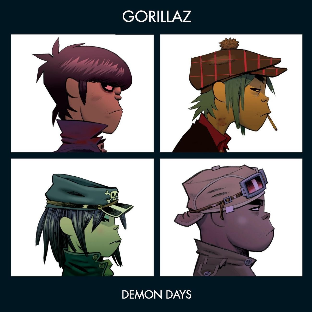 「November Has Come」収録アルバム『Demon Days』/Gorillaz