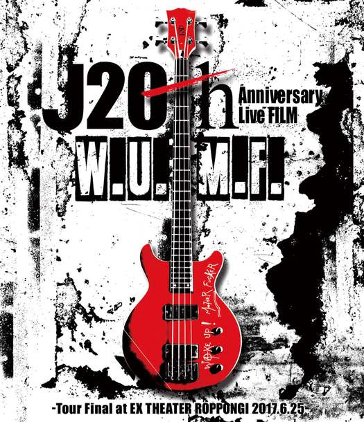 DVD&Blu-ray『J 20th Anniversary Live FILM [W.U.M.F.] -Tour Final at EX THEATER ROPPONGI 2017.6.25-』【通常盤】(1Blu-ray)