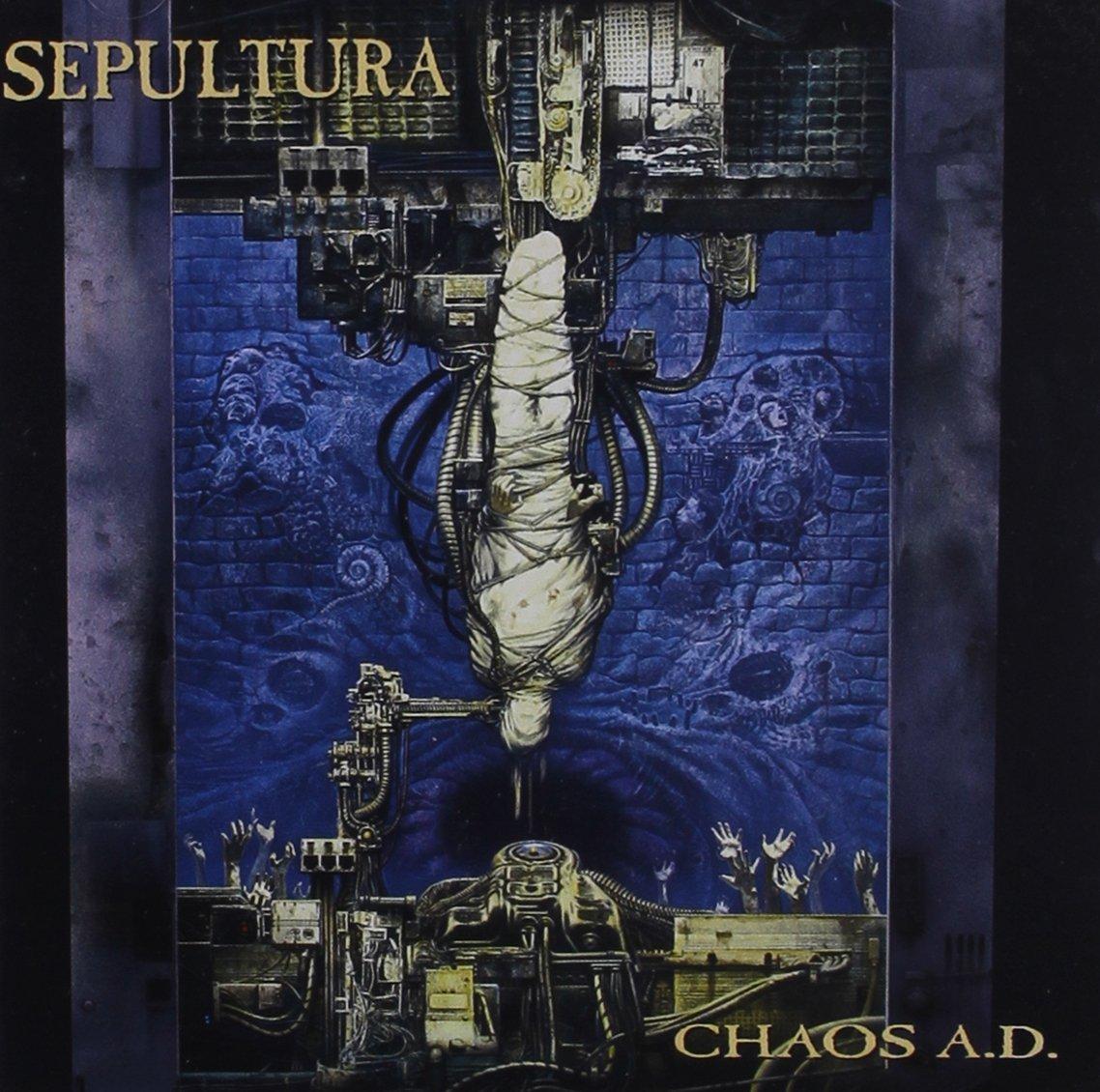 「Refuse/Resist」収録アルバム『CHAOS A.D.』/SEPULTURA