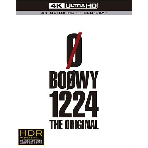 Blu-ray&DVD『BOØWY 1224 -THE ORIGINAL-』 【Ultra HD Blu-ray +Blu-ray(5.1ch)】