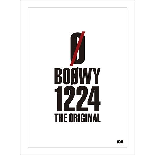 Blu-ray&DVD『BOØWY 1224 -THE ORIGINAL-』 【DVD】