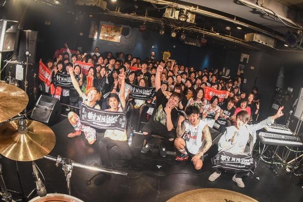 11月25日@東京・渋谷 TSUTAYA O-Crest