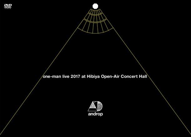 DVD&Blu-ray『one-man live 2017 at 日比谷野外大音楽堂』【DVD】
