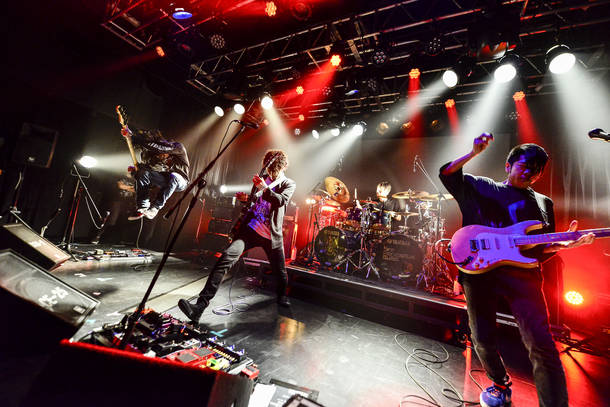 【9mm Parabellum Bullet  ライヴレポート】 『GG NEXT 2017  supported by日本工学院』 2017年11月25日 at  日本工学院専門学校 蒲田キャンパス ALCHEMY STAGE