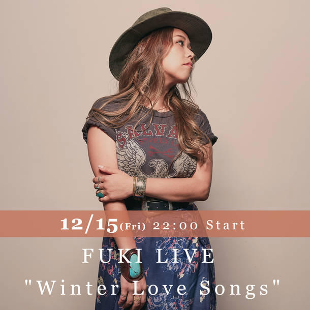 "『FUKI LIVE ""Winter Love Songs""』"