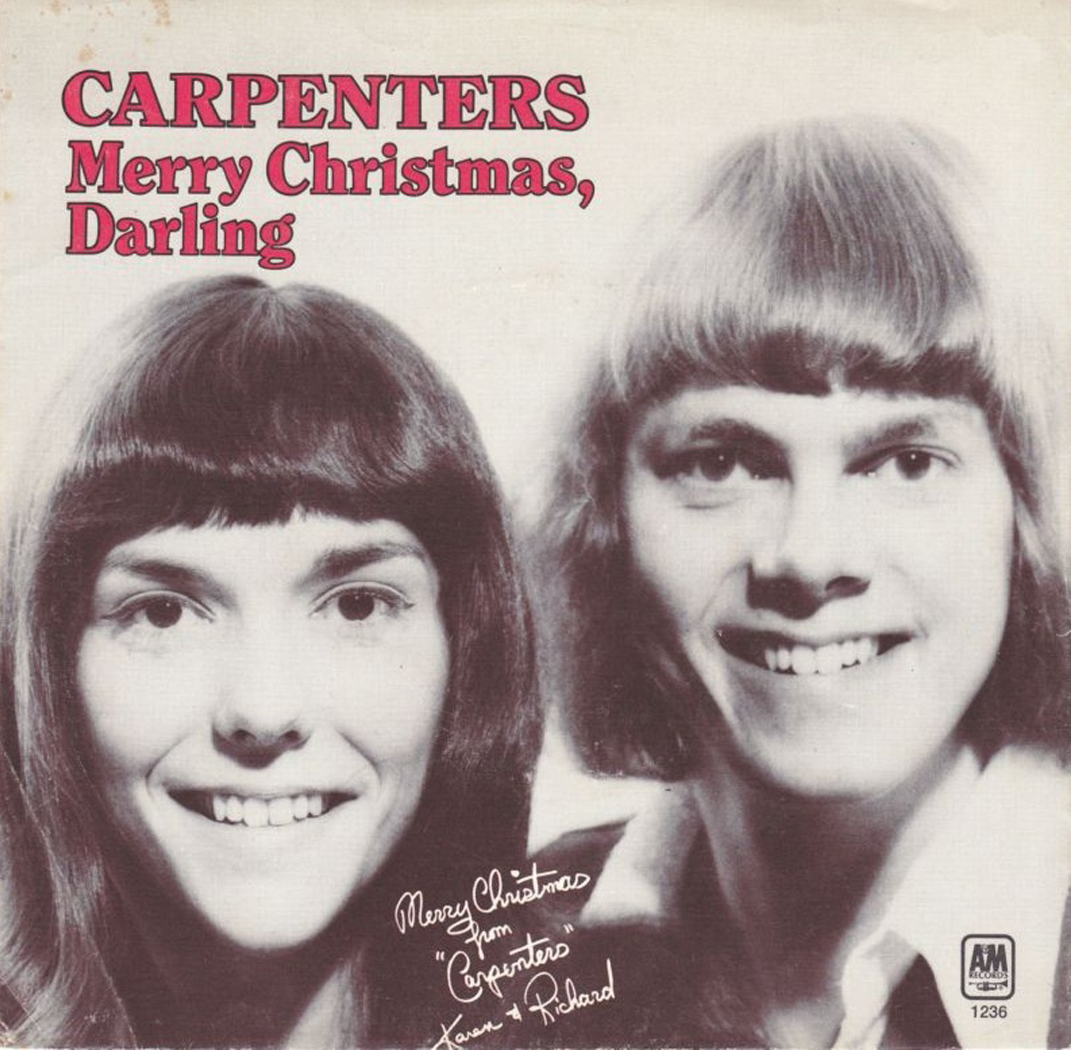 シングル「Merry Christmas, Darling」/The Carpenters