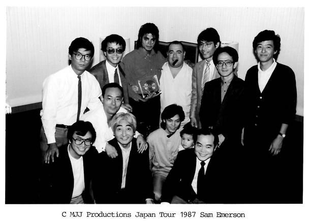 MJ×清水彰彦氏 1987年ソロ初来日