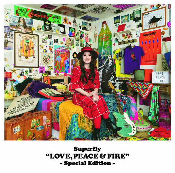 アルバム『LOVE, PEACE & FIRE –Special Edition-』