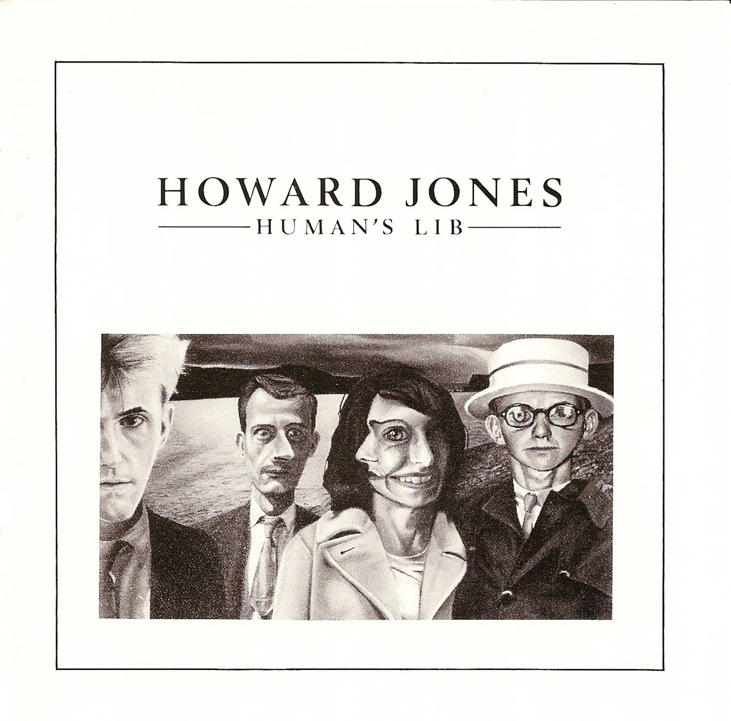 『Humans Lib』('84)/Howard Jones