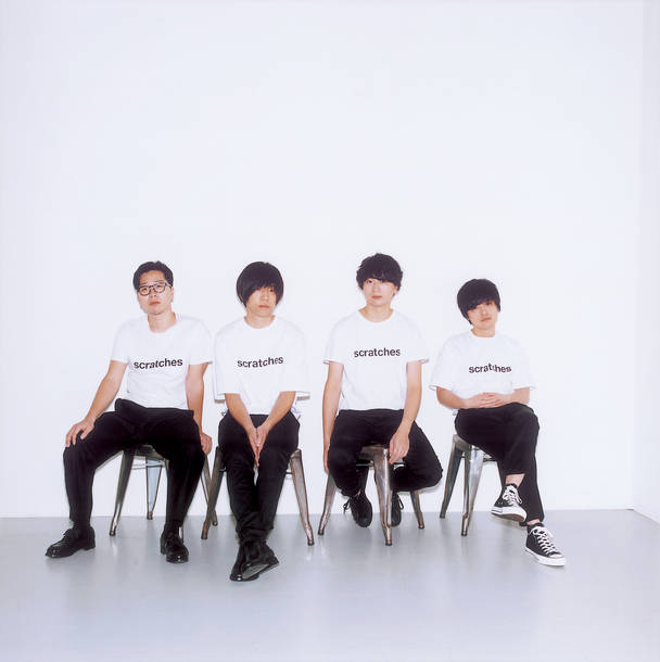 L→R 前田恭介(Ba)、内澤崇仁(Vo&Gu)、佐藤拓也(Gu&Key)、伊藤彬彦(Dr)