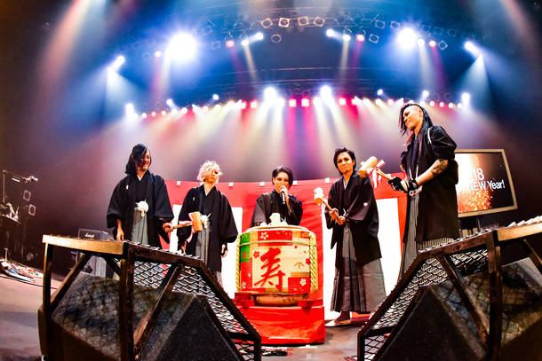 12月31日@Zepp Nagoya  Photo by 屋良太