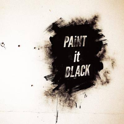 配信楽曲「PAiNT it BLACK」