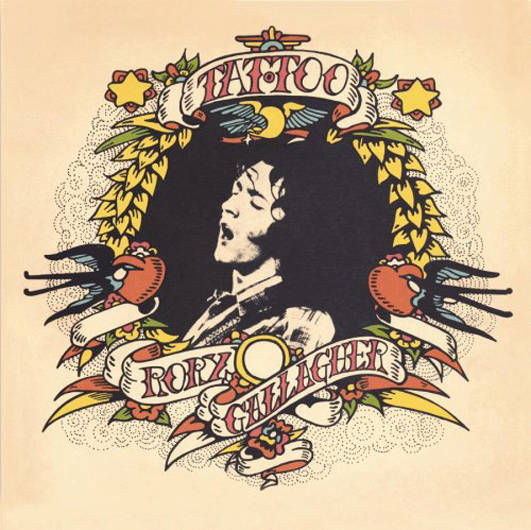 『Tattoo』('73)/Rory Gallagher