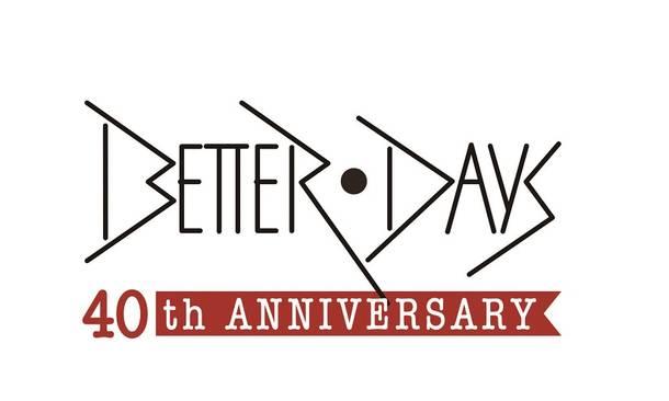 BETTER DAYS 40周年ロゴ