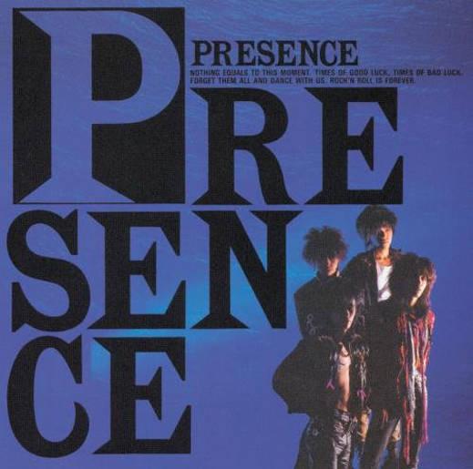 『PRESENCE』('00)/PRESENCE