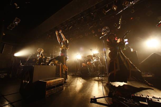 2月1日@東京・LIQUIDROOM(メトロノーム)