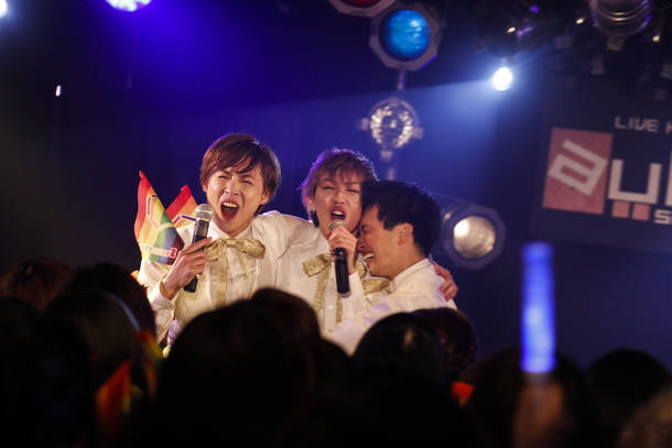 2月11日@東京都・aube shibuya