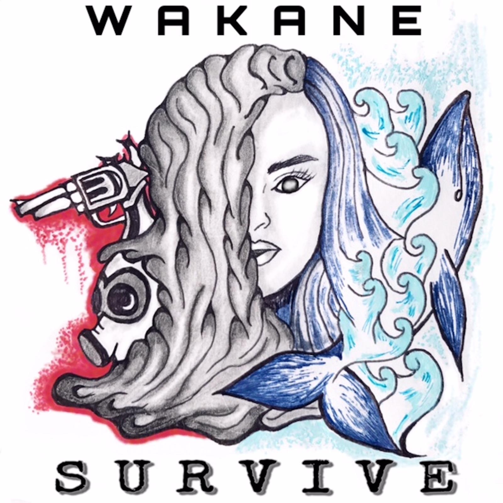 ワカネ新曲「Survive」音楽サイトで配信中。試聴は下記サイトから